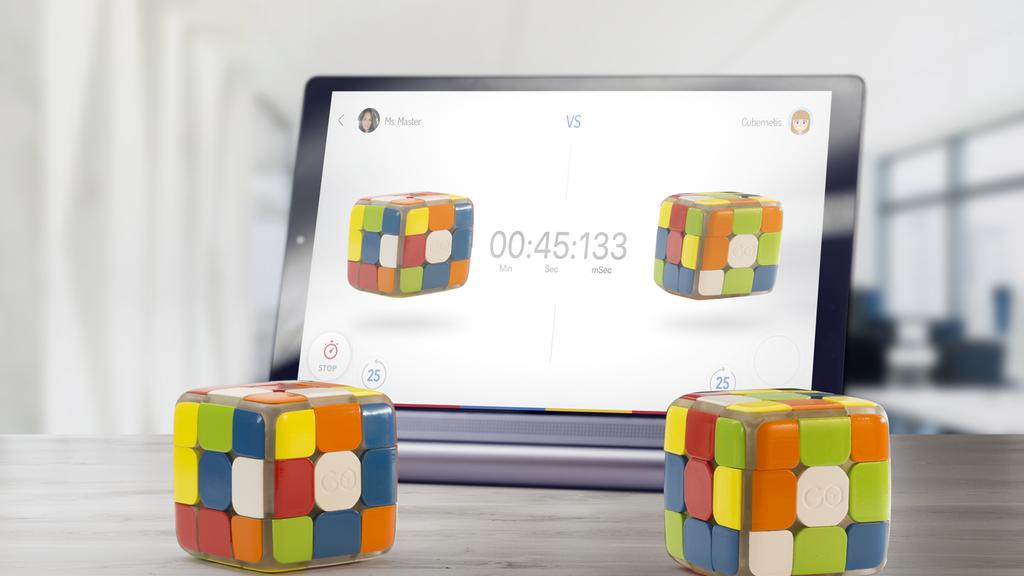 Gocube : le Rubik's Cube intelligent et connecté